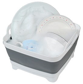 725118 Washing up bowl with plug
