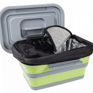 725119LG Collapsible Coolbox Lime