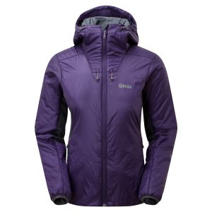 40310 Lds Talus Primaloft jacket Dark Purple Front LR